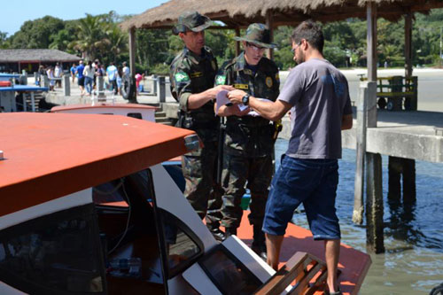 Operação Independência na Ilha do Mel